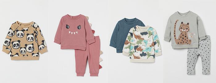 nueva colección H&M otoño bebe 2021