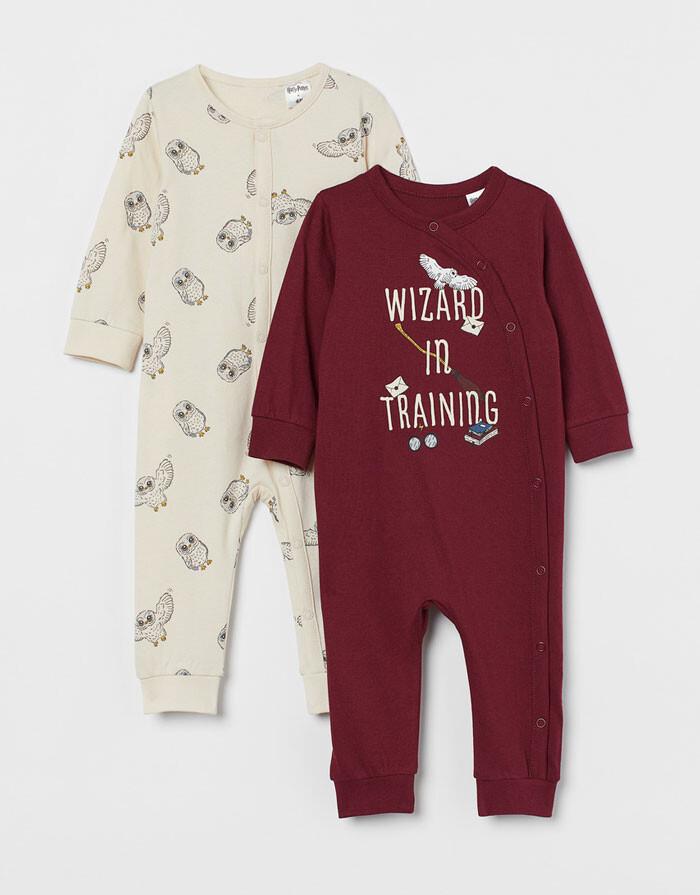 pijamas harry potter hym bebe