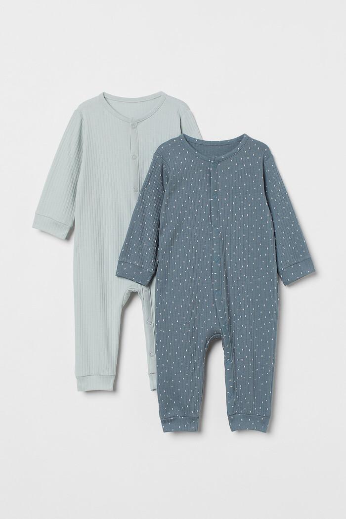 pijamas pack recien nacido H&M