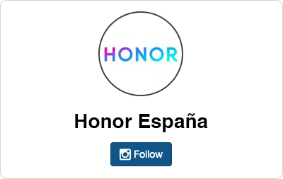 Honor en Instagram