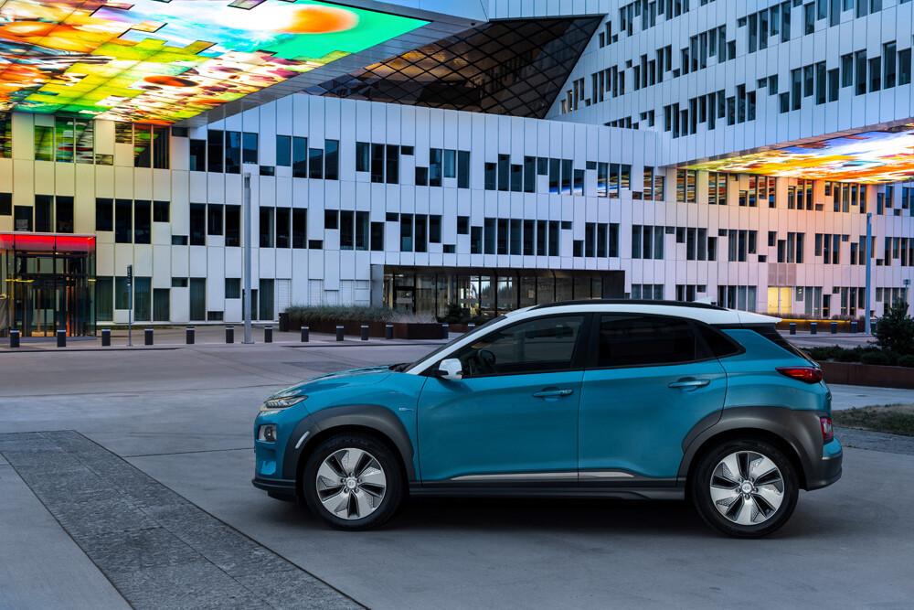 Hyundai Kona EV precio