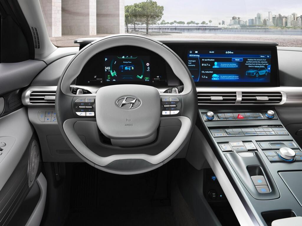 Interior coche a hidrógeno