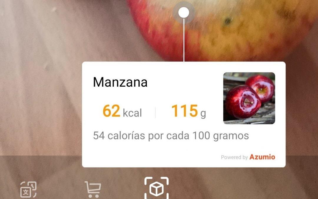 La IA del móvil nos «chiva» las calorías de lo que comemos