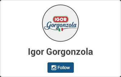 Igor Gorgonzola en Instagram
