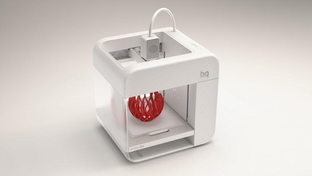 Impresión 3D con Witbox Go! de BQ