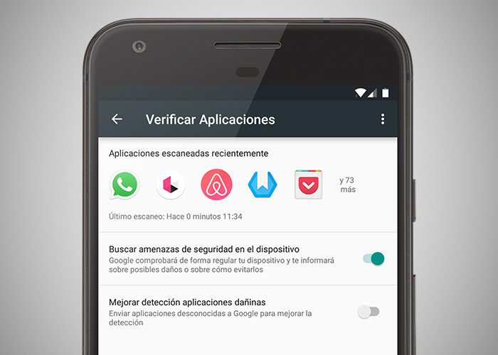 Seguridad en smartphone BQ