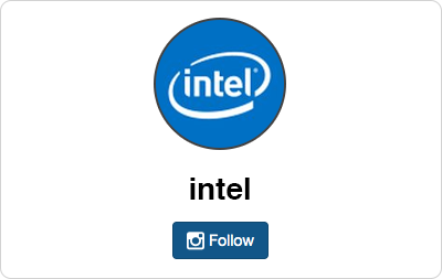 Intel en Instagram