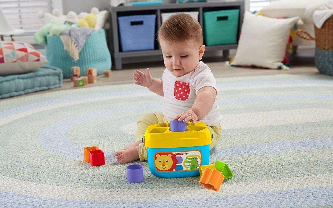 Cómo un bebé de meses aprende matemáticas jugando