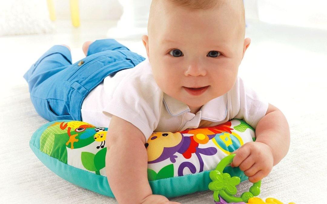 ¿A qué juegan los niños cuando todavía tienen pocos meses?