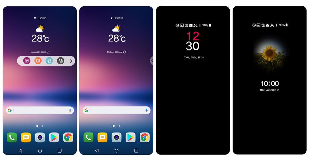 Los lectores de Xataka opinan: análisis de software del nuevo LG V30