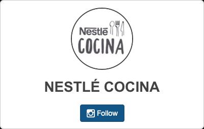 Nestlé Cocina en Instagram