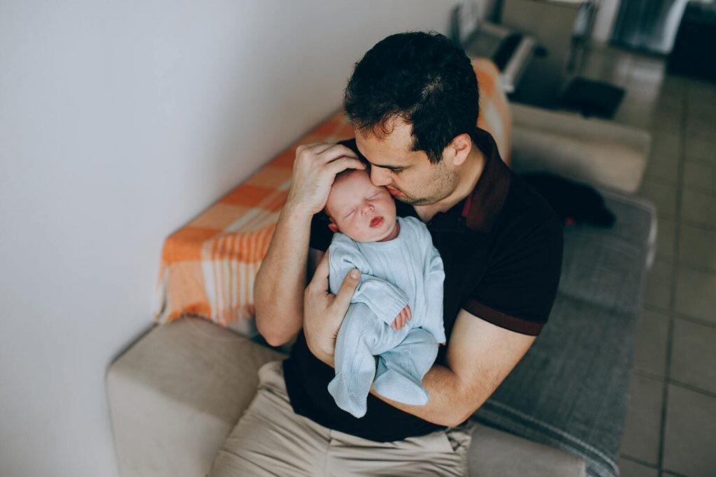 bebes denticion contacto humano