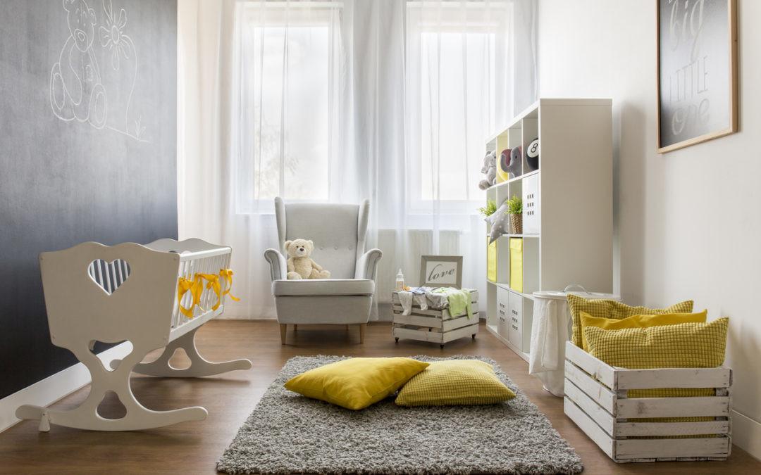 Así puedes crear la habitación perfecta para tu bebé (y respetar la naturaleza)