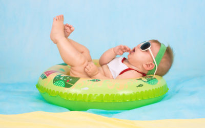 ¿Primeras vacaciones con tu bebé?, con este kit básico solo tendrás que preocuparte de decidir si prefieres playa o montaña