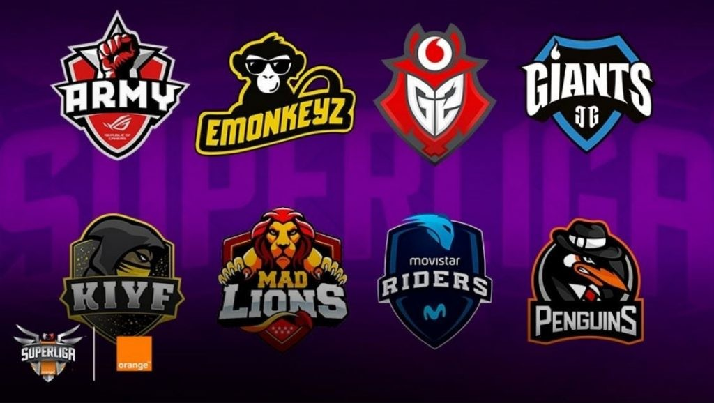 Escudos de los equipos participantes en la temporada 2018 de la SLO.