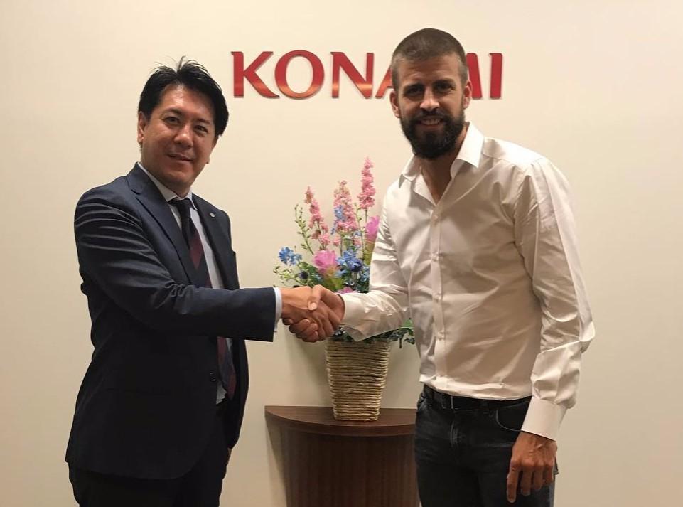 Konami se ha aliado con la empresa de Piqué para crear una liga de PES 2018