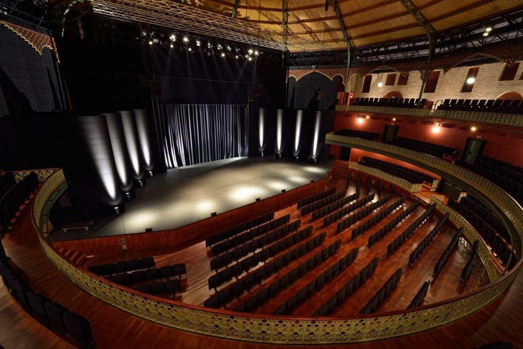 El Teatro Circo de Murcia, donde tendrá lugar la final.