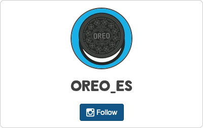 Oreo en Instagram