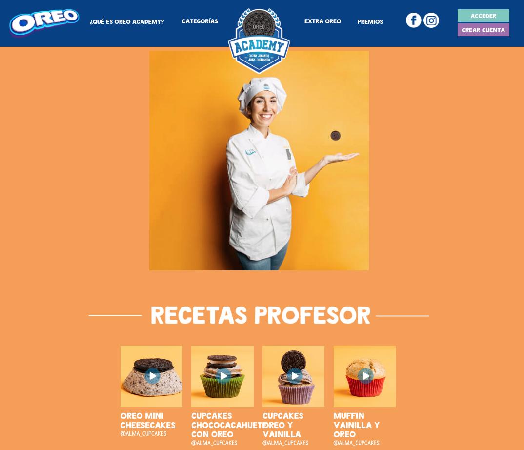recetas Oreo