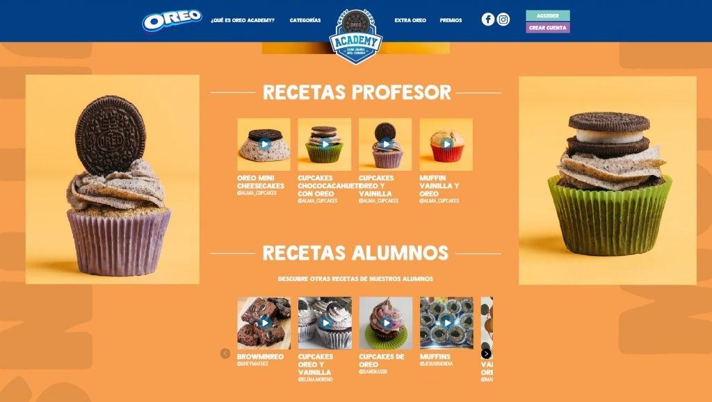 Cupcakes en Oreo Academy