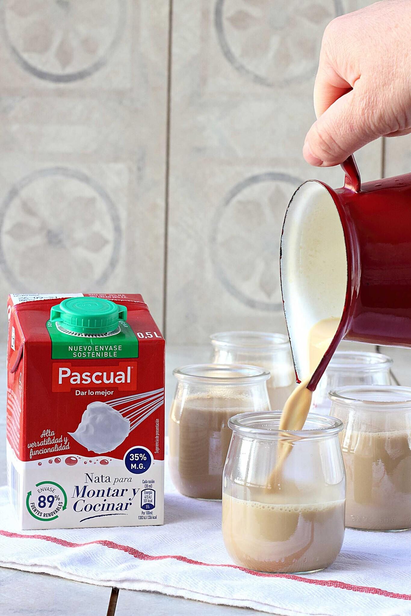 panna cotta cafe receta