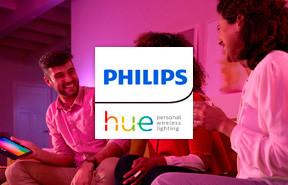 Iluminación inteligente Philips Hue