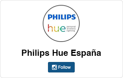 Philips HUE en Instagram