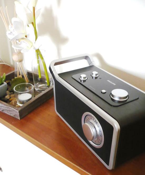 radio retro de Philips
