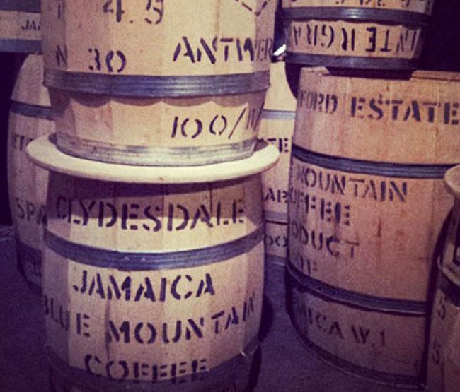 barril café jamaicano