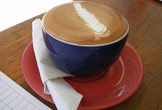 Arte latte cappuccino