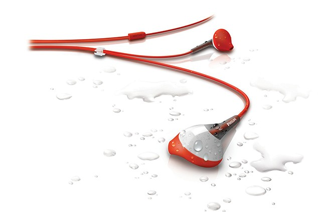 auriculares ActionFit Philips agua