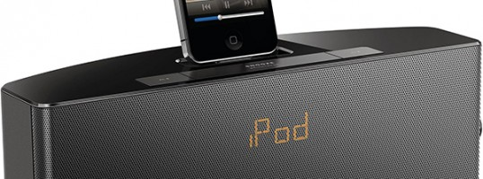 sistema docking AJ7034D Philips para iPod y iPhone