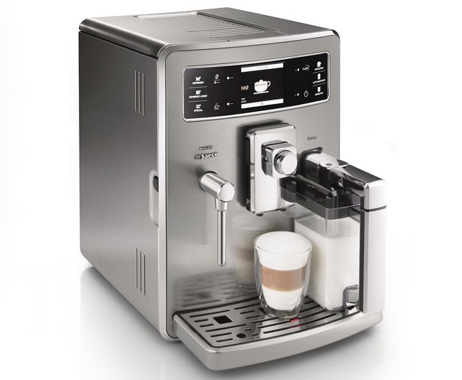Cafetera Xelsis Acero Inoxidable de Philips