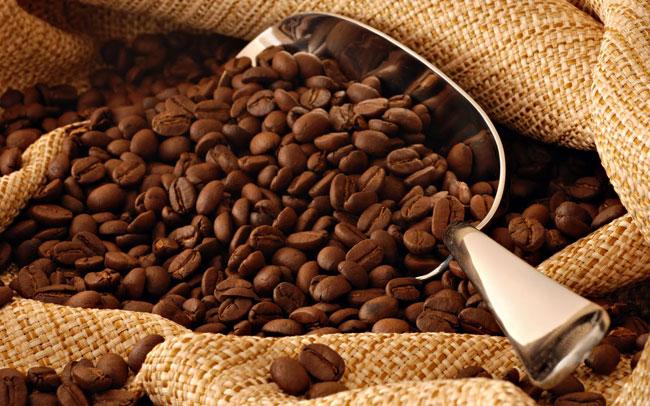 saco de granos de café