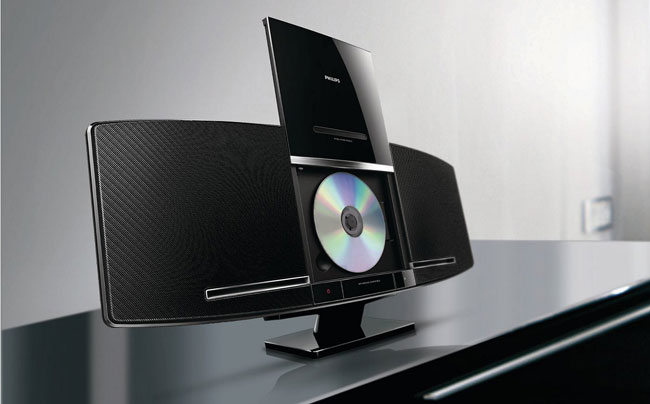 microcadena Philips con reproductor de CD
