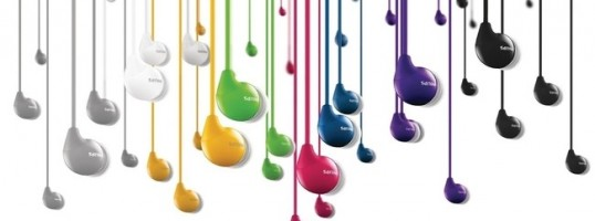 auriculares Philips de colores