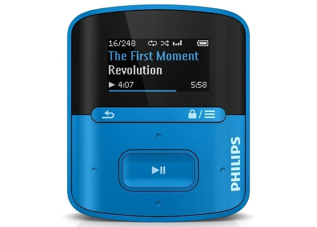MP3 RaGa 4 GB Philips azul
