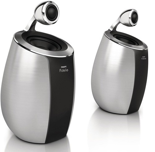 mini altavoces inalambricos SoundSphere de Philips