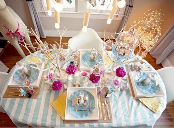Ideas para decorar la mesa en navidad mi mundo philips for Como decorar la mesa para navidad
