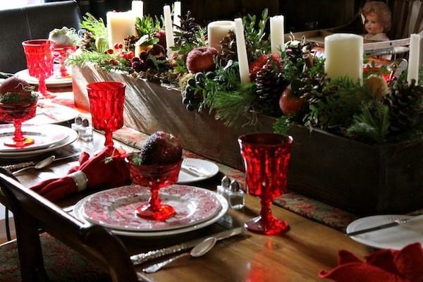 Ideas para decorar la mesa en navidad mi mundo philips for Vajillas para navidad