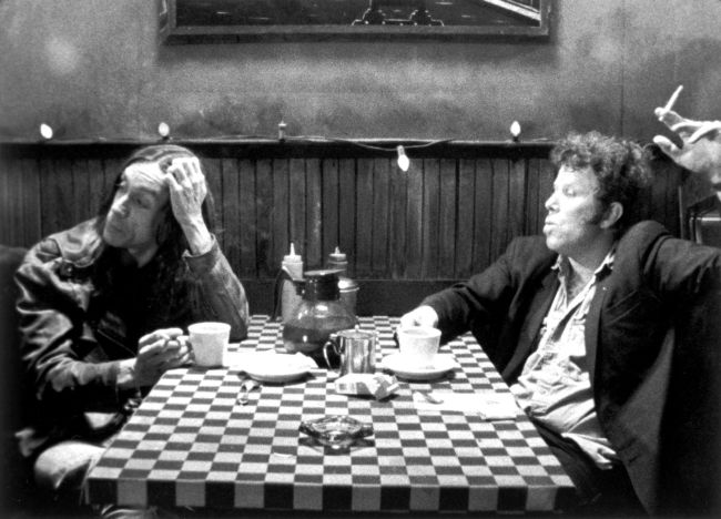 Tom Waits e Iggy Pop