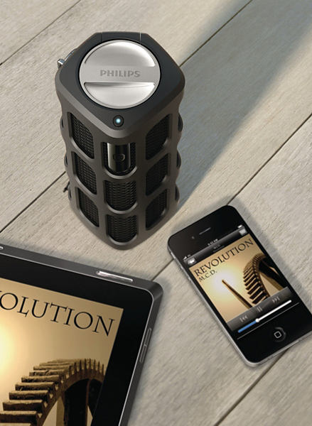altavoz portátil Bluetooth SB7200 Philips