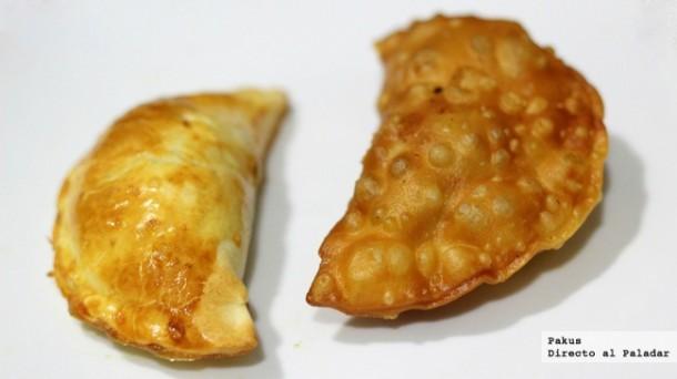 Empanadillas fritas y al horno