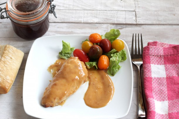 Salsa de albaricoques philips