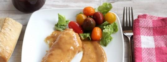 salsa sencilla de albaricoques