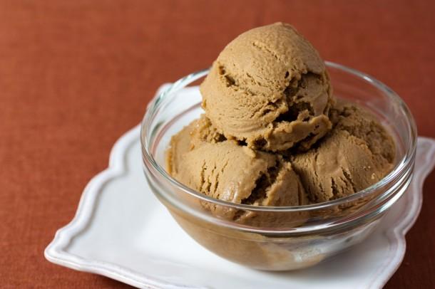 helado de café en verano