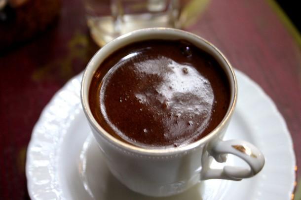 Típico café turco
