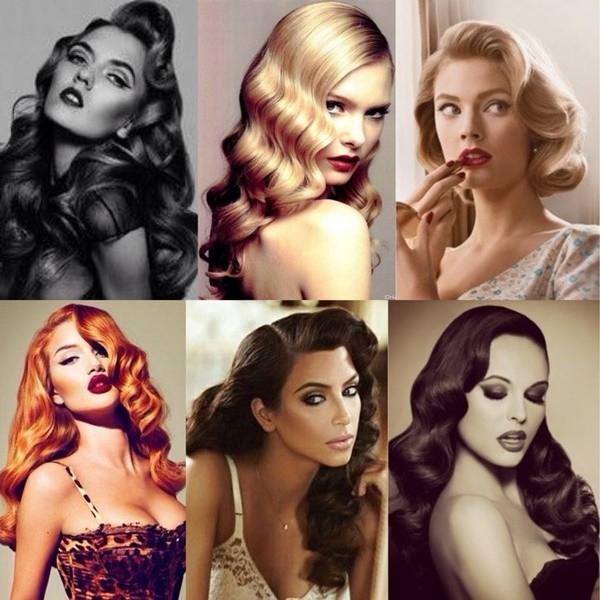 Siete Peinados Para Siete Decadas Vuelve A Los Anos 30 40 50 60