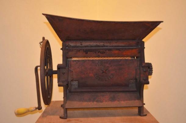 Museo del café maquina despulpadora de cilindro para cafe