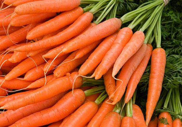 alimentos de temporada zanahorias